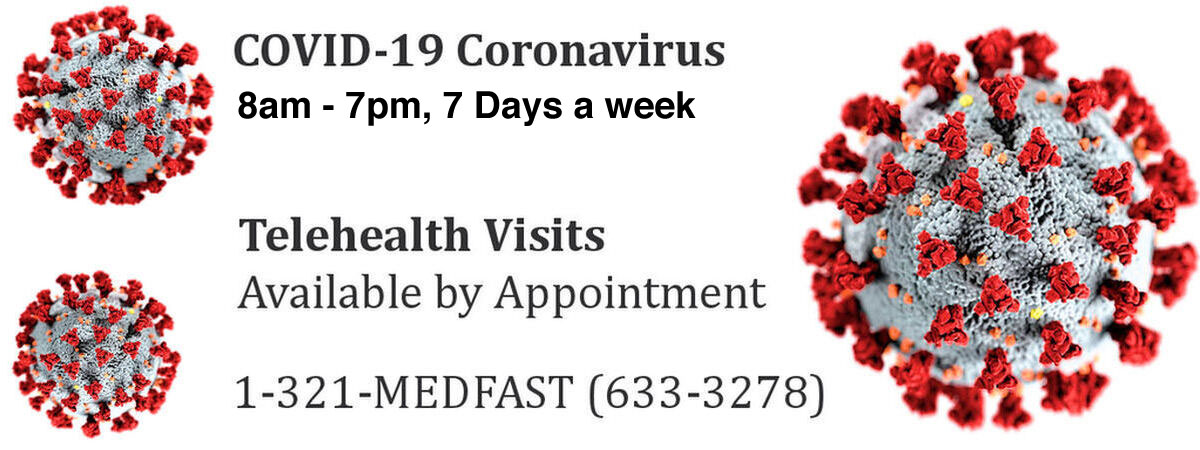 Coronavirus Covid 19 Testing Urgent Care Walk In Clinics And Medical Care Centers In Melbourne And Brevard County Florida