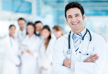 licensed doctors and nurses
